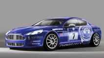 Aston Martin Rapide Nurburgring race car 06.04.2010