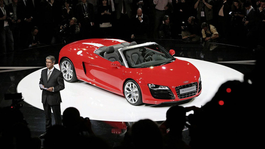 Audi R8 V10 Spyder Priced for UK