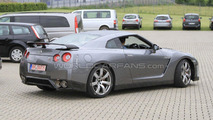 2012 Nissan GT-R facelift first spy photos, Nurburgring, Germany, 21.06.2010