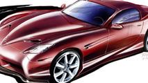 Panoz Abruzzi Sportscar artist renderings - 792 - 25.03.2010