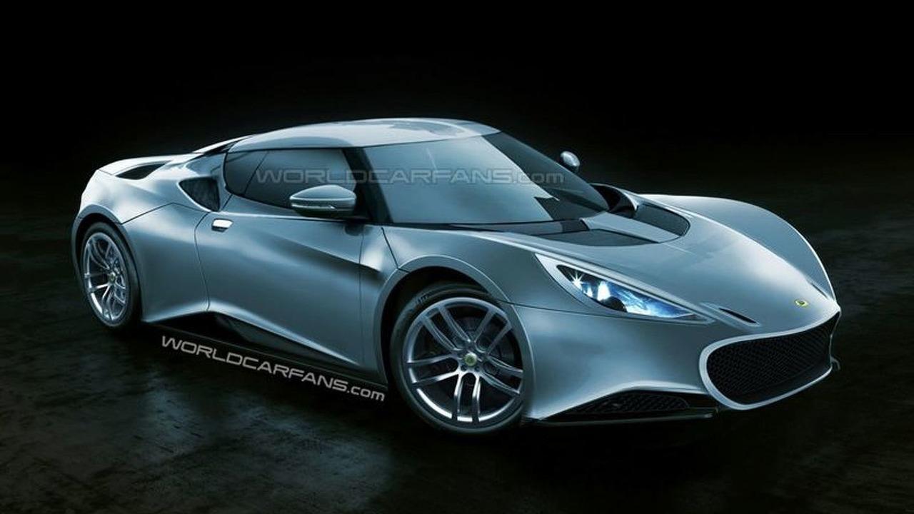 2012 Lotus Esprit Artists Rendering