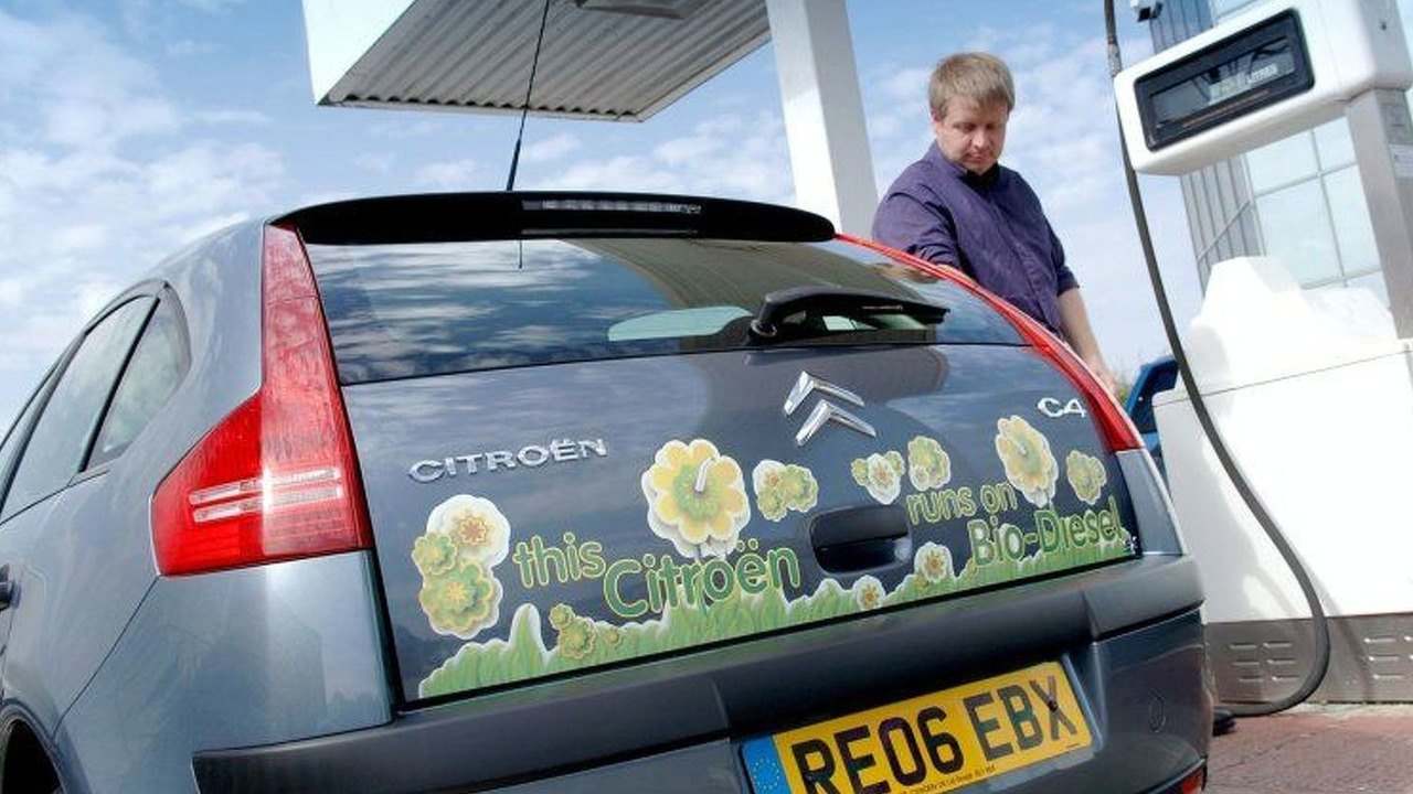 Citroen UK Runs Cars on Bio-Diesel
