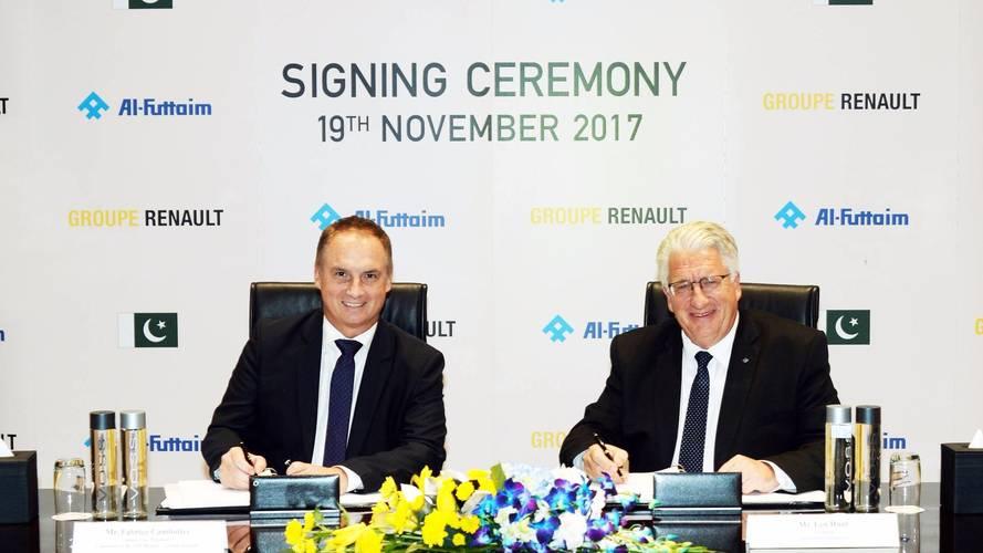 Renault débarque au Pakistan