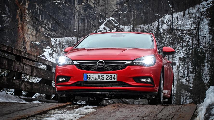2016 Opel Astra LED ön farlar