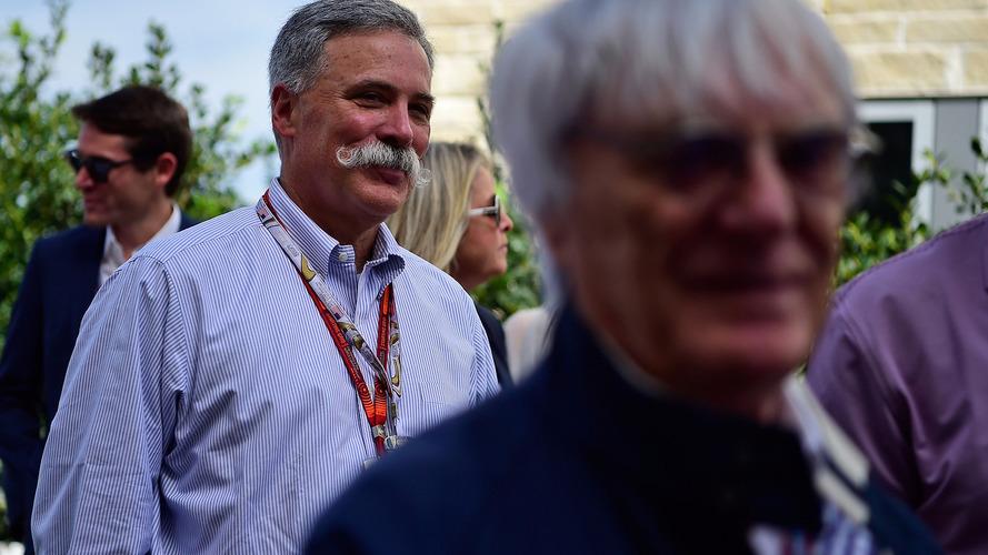 Ecclestone confirma que Chase Carey o substituiu como CEO da F1