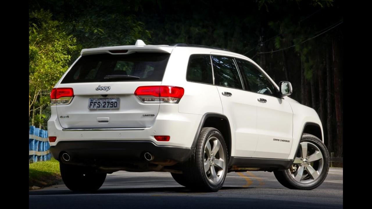 Recall: Grand Cherokee e Chrysler 300C são chamados por problema no câmbio