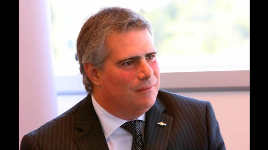 GM do Brasil anuncia Carlos Zarlenga como novo presidente
