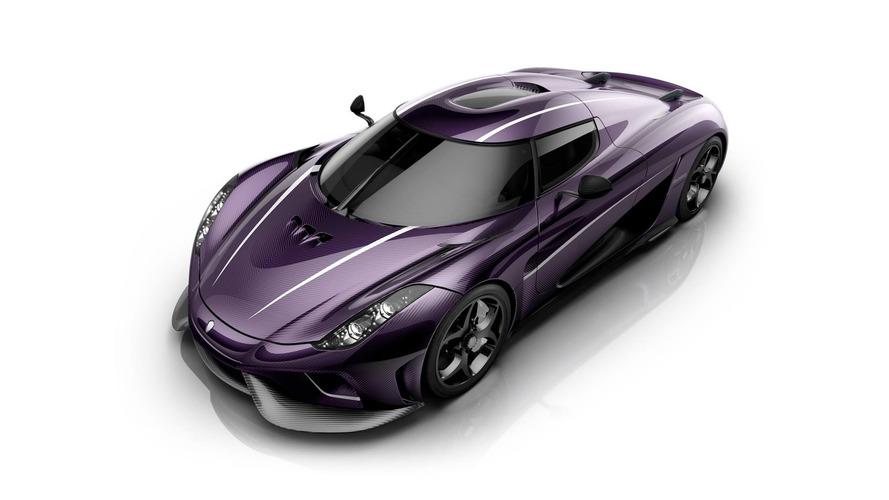 Koenigsegg dévoile une Regera en hommage au chanteur Prince