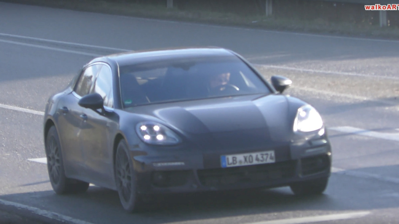 VIDEO Porsche Panamera Coupé