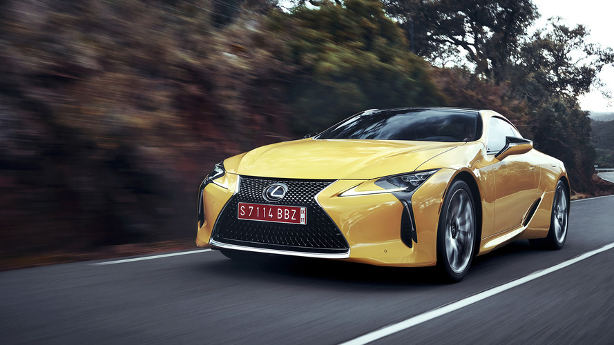 Lexus expects to sell 400 LC 500 coupes a month