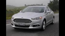 Flagra! Ford já testa Fusion 2016 reestilizado no Brasil