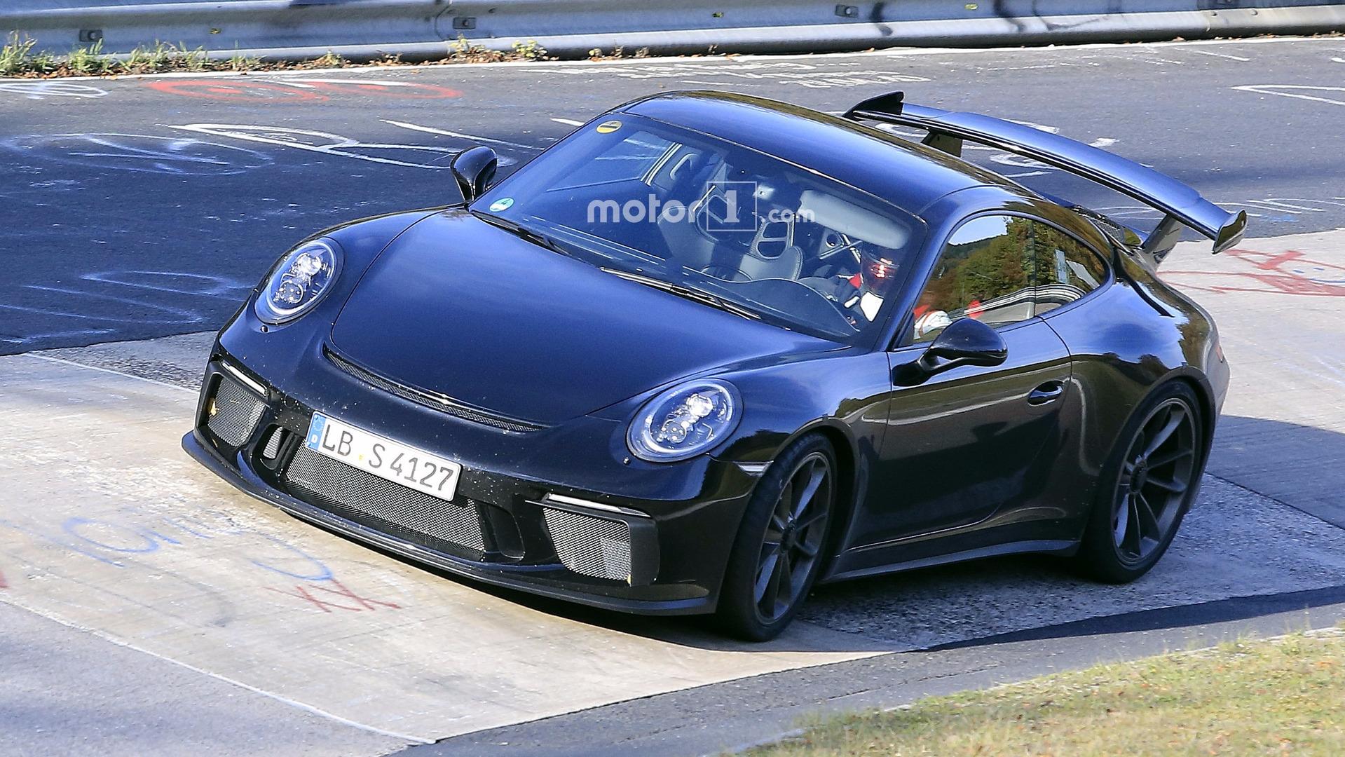 2017-porsche-911-gt3-facelift-spy-photo Stunning Porsche 911 Gt2 Body Kit Cars Trend