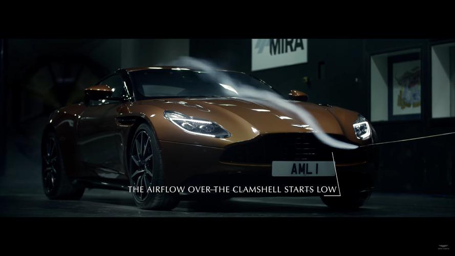 Aston Martin DB11'ın aerodinamik sırları