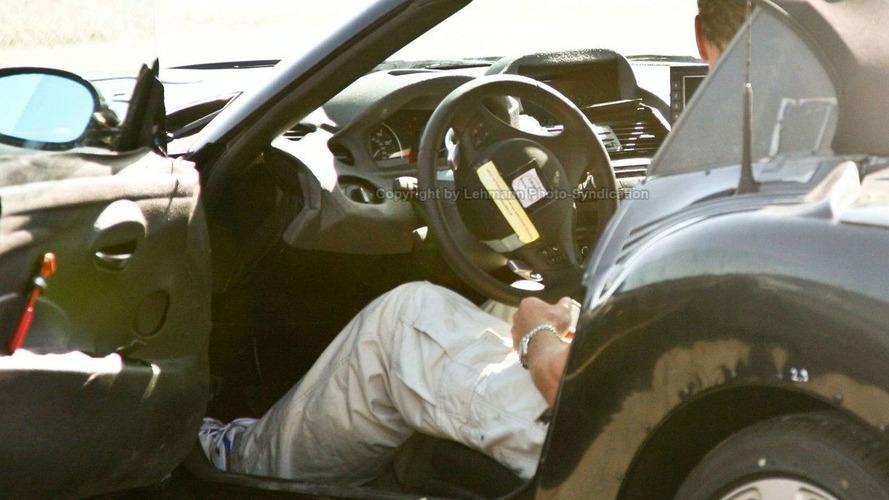 New BMW Z4 Interior Spied