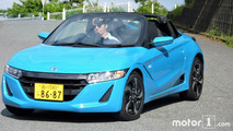 Essai Exclusif de la Honda S660 (2017)