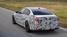 BMW M5 2017 prototipo