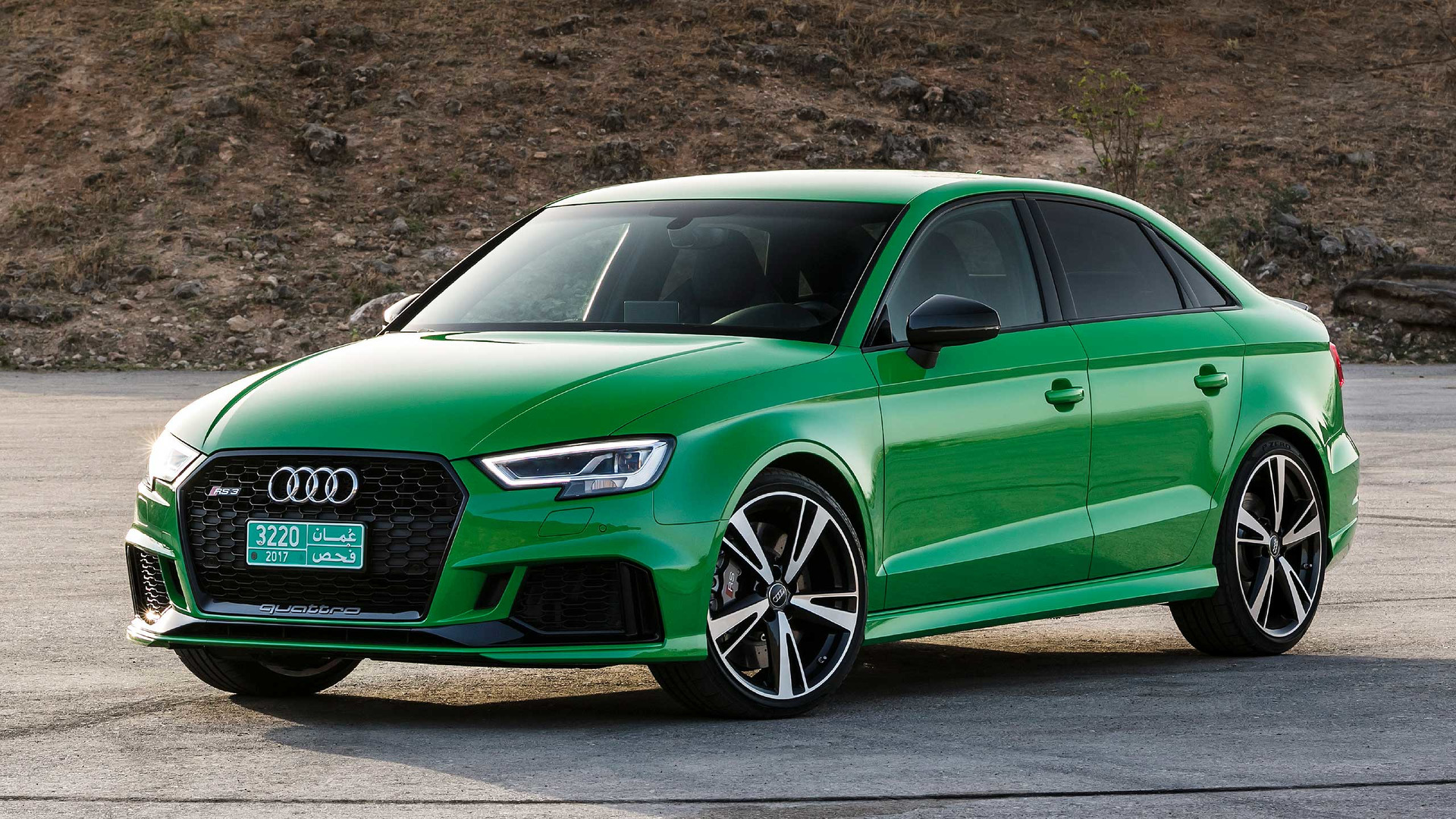 2018 audi rs3 sedan first drive the no compromise compromise. Black Bedroom Furniture Sets. Home Design Ideas