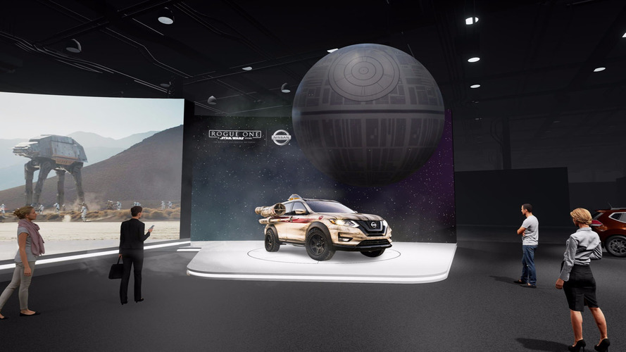 Nissan Brings Massive Inflatable Death Star To New York