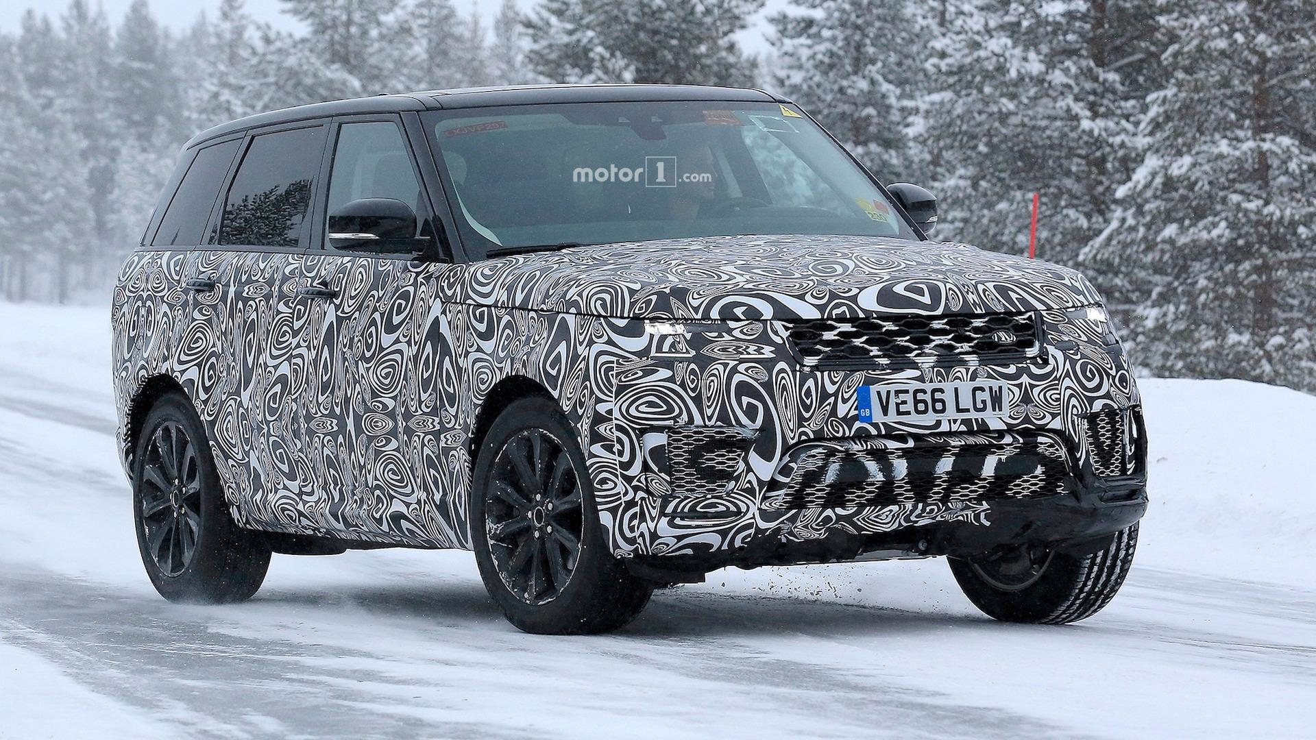 [ تجسس SPY ] رنج روفر سبورت 2018 Range Rover Sport