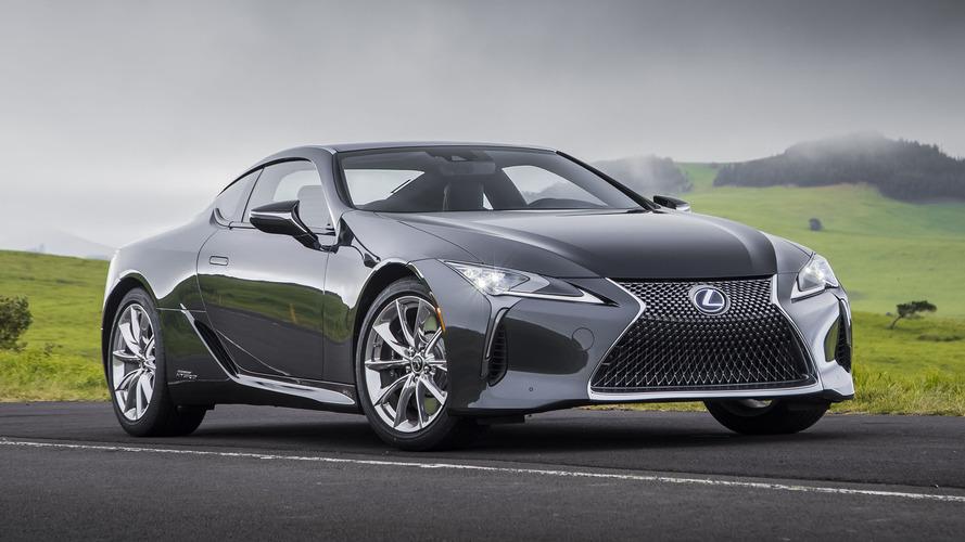 İlk Sürüş: 2018 Lexus LC 500h