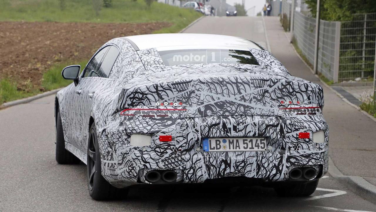 2017 - [Mercedes-AMG] GT4 2019-mercedes-amg-gt-sedan-spy-photo