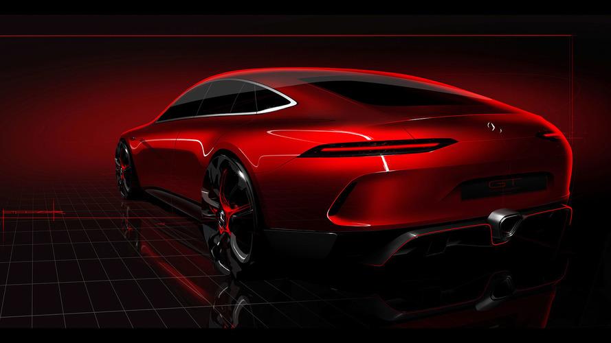 Mercedes-AMG GT Concept dört kapılı bir spor aracı temsil ediyor