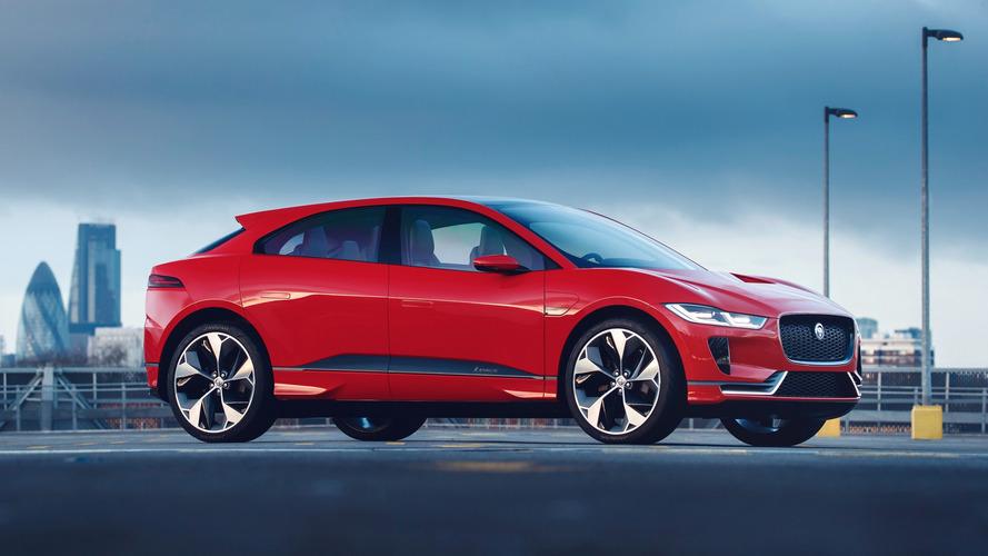Jaguar I-Pace em versão de produção estreia em setembro