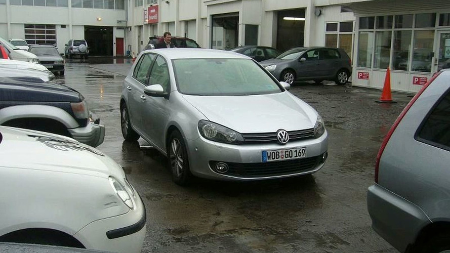 Volkswagen Golf Mk6 Arrives in Iceland Ahead of Unveiling