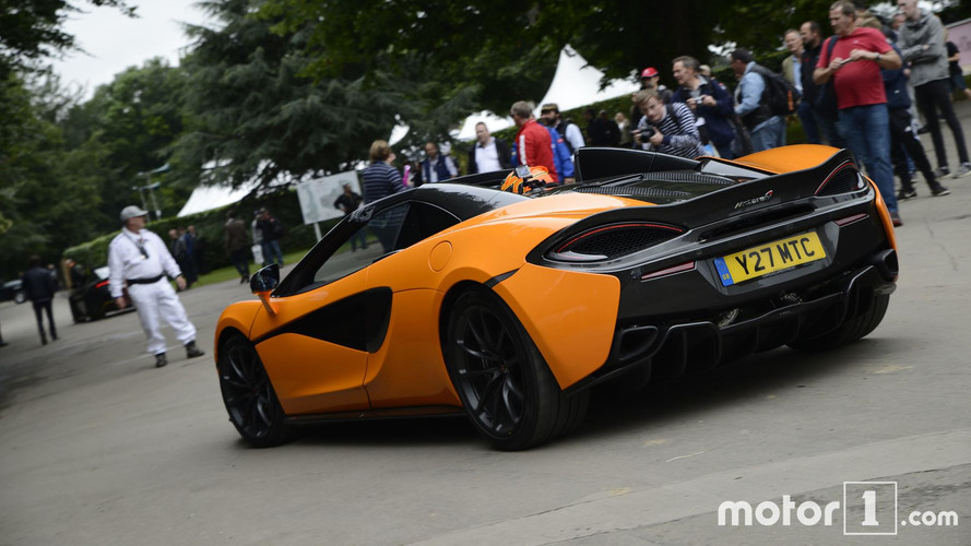 2017 McLaren 570 S Spider Goodwood