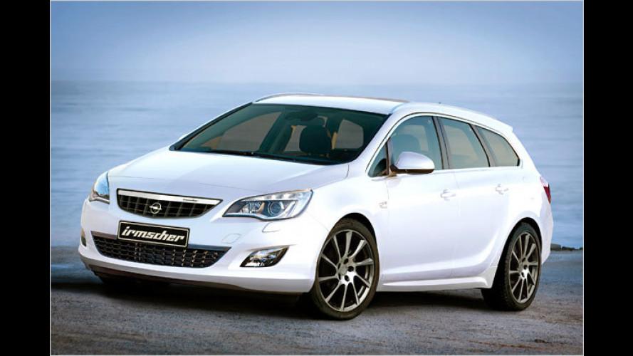 Irmscher-Note für den Opel Astra Sports Tourer
