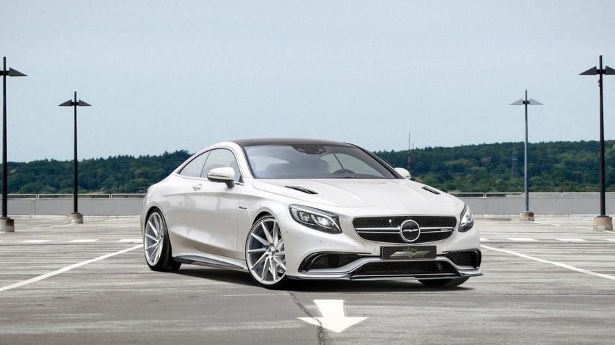Mercedes-Benz S63 AMG Coupe dialed to 850 PS by Voltage Design