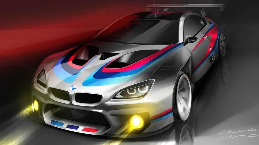 BMW M6 GT3 teased ahead of 2016 racing debut