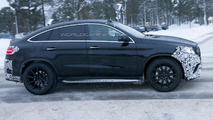 Mercedes GLE 63 AMG Coupe spy photo