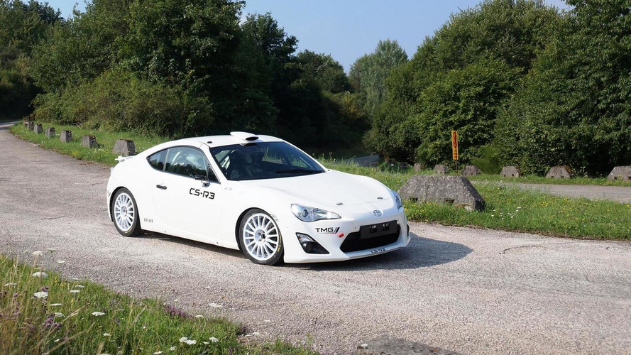 Toyota GT86 CS-R3 rally car detailed, goes on sale Q1 2015