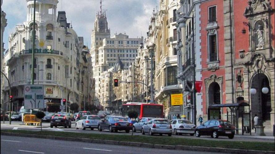 A Madrid sempre più auto e mezzi pubblici sono a metano