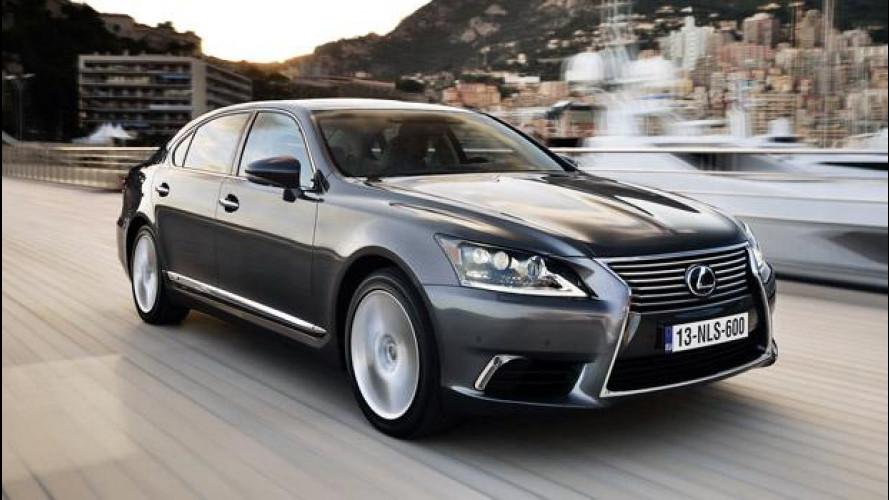 Lexus LS Hybrid, un giorno da