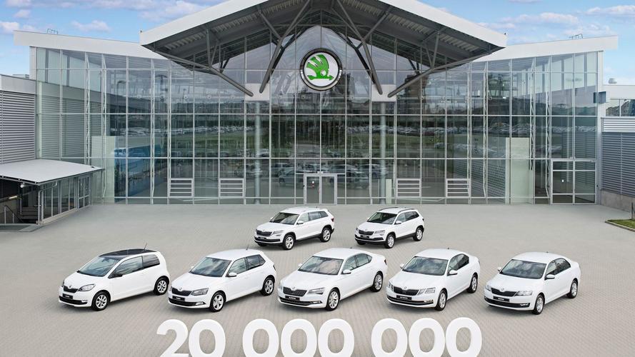 Ünnepel a Skoda – a 20 milliomodik modell is legördült a gyártósorról