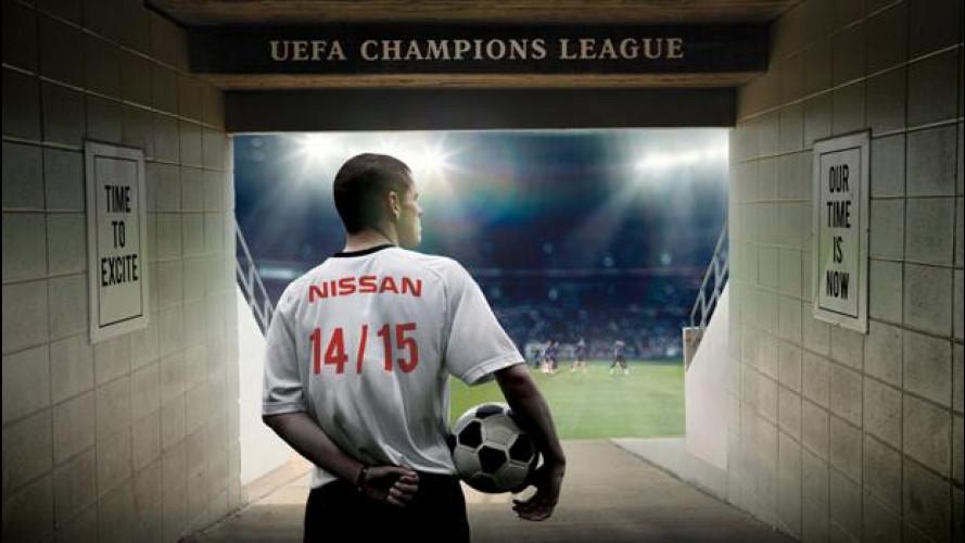 Champions League, Nissan è il nuovo sponsor
