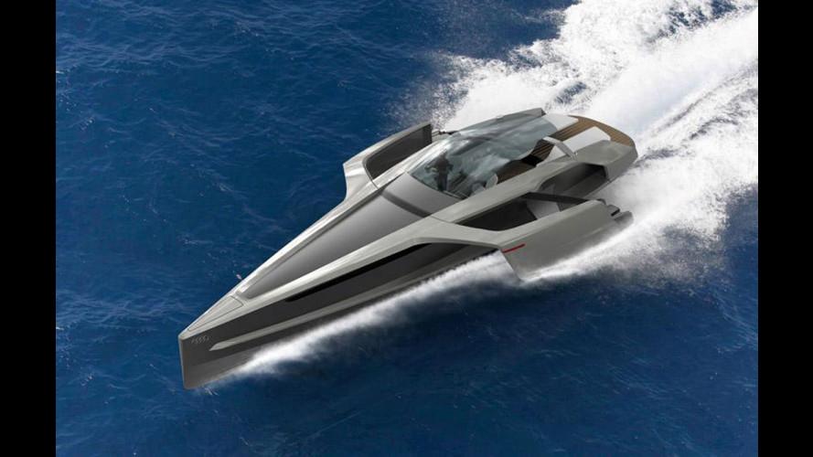 Lo Yacht Audi è un trimarano ibrido