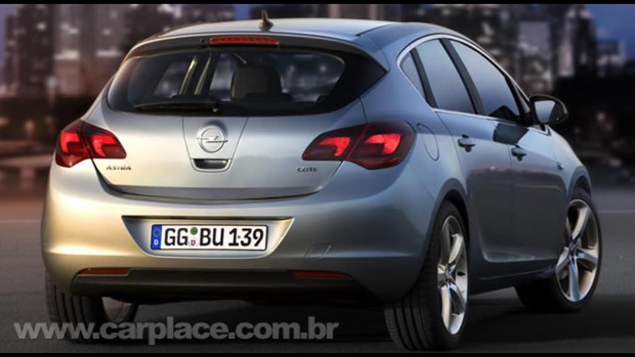 De carona no Novo Astra 2010: Opel divulga vídeo de testes feito com câmera a bordo