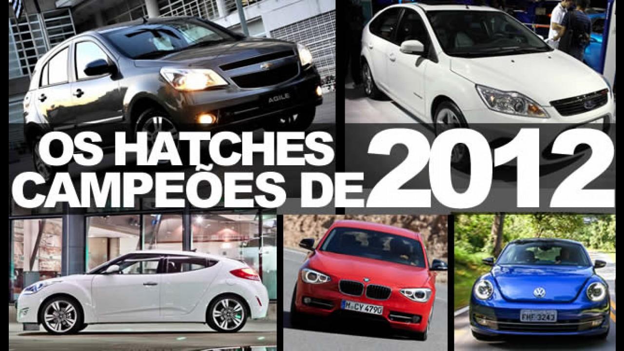 """Especial """"Campeões de 2012"""": Conheça os HATCHES mais vendidos no Brasil"""