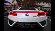 Acura NSX 2016: versão de produção estreia em janeiro com motor biturbo