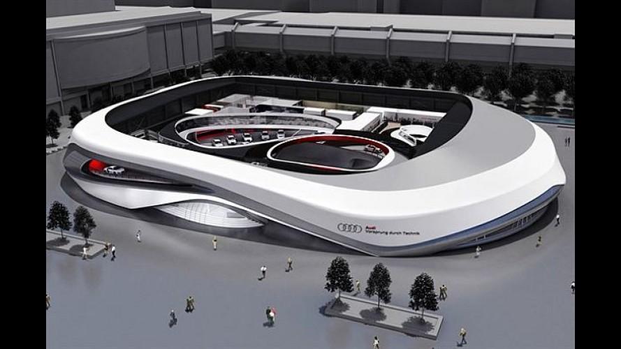 Para impressionar: Audi revela planos para seu stand no Salão de Frankfurt