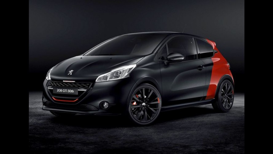 Peugeot 208 celebra 30 anos da sigla GTi com 208 cv e proposta mais esportiva