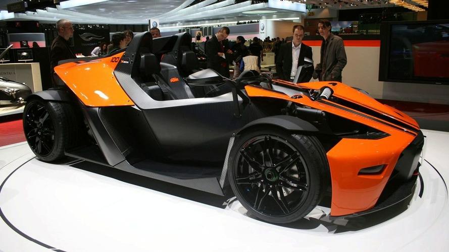 KTM X-Bow Dallara in Geneva: 100 Units Only