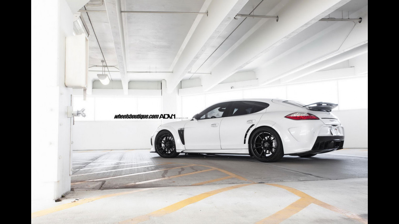 Porsche Panamera Turbo by Mansory