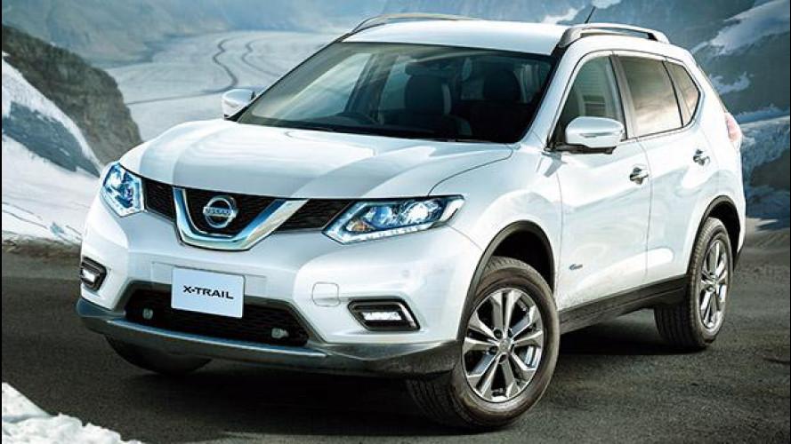 Nissan X-Trail Hybrid, il SUV elettrificato