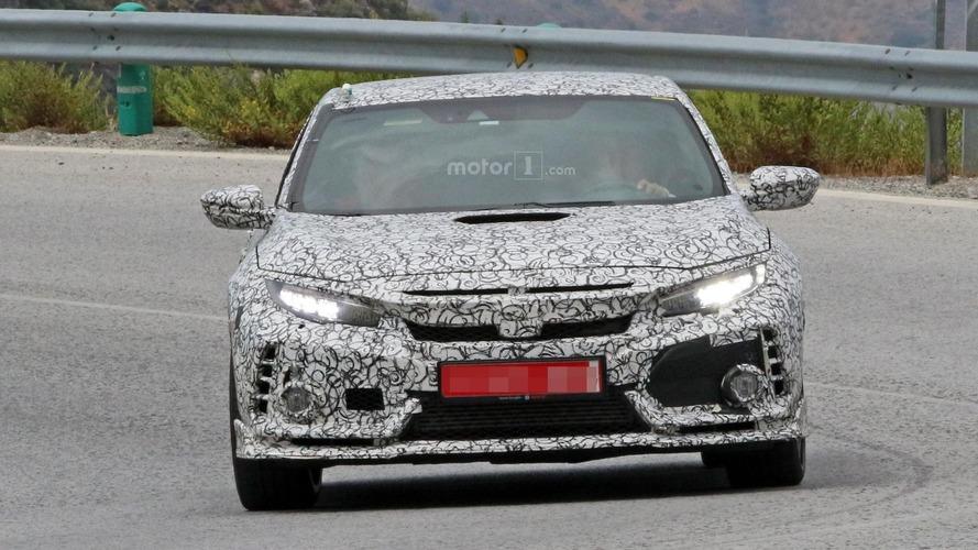 Spyshots de la Honda Civic Type R 2018