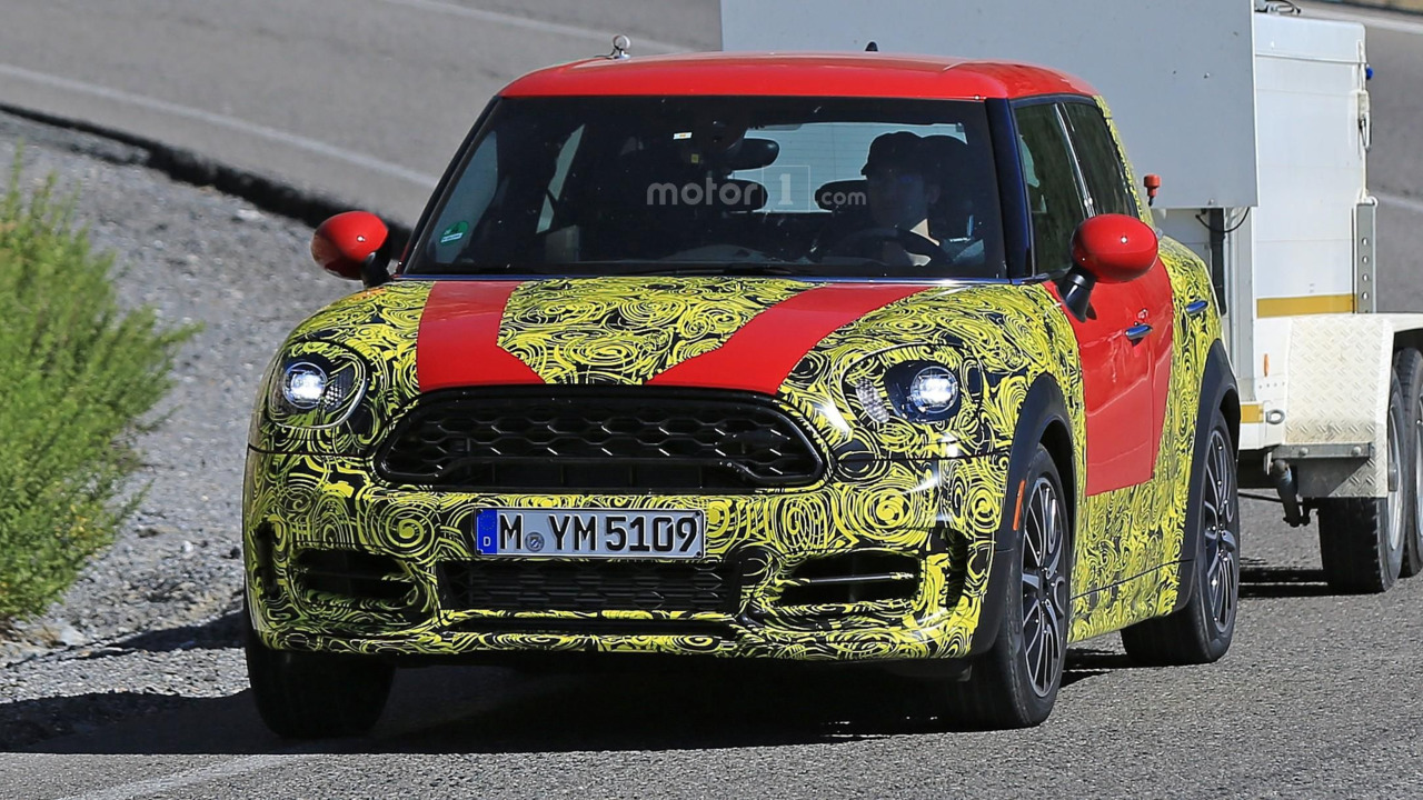 Mini Countryman 2018 photos espion