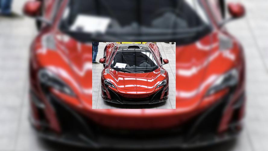 McLaren 688 HS spy shot surfaces